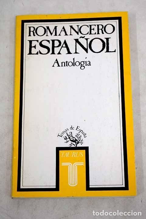 ROMANCERO ESPAÑOL: (ANTOLOGÍA) (Libros sin clasificar)