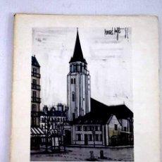 Libros: BERNARD BUFFET, PARÍS.- BAUER, GÉRARD. Lote 225942560