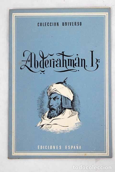 ABDERRAHMAN I (Libros sin clasificar)