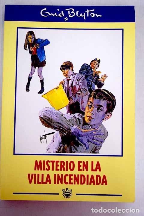 MISTERIO EN LA VILLA INCENDIADA (Libros sin clasificar)