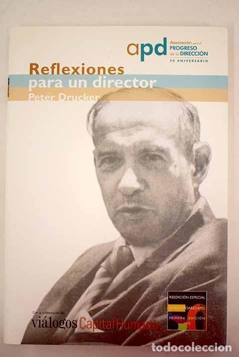 REFLEXIONES PARA UN DIRECTOR (Libros sin clasificar)
