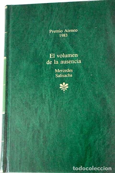 EL VOLUMEN DE LA AUSENCIA (Libros sin clasificar)