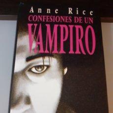 Libros: LIBRO CONFESIONES DE UN VAMPIRO TAPAS DURAS. Lote 226293650