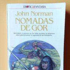 Libros: NÓMADAS DE GOR. CRÓNICAS DE LA CONTRATIERRA/4. TARL CABOT, EL GUERRERO DE GOR, DEBE ENCONTRAR UN MIS. Lote 226436199