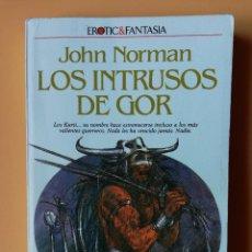 Libros: EL INTRUSOS DE GOR. CRÓNICAS DE LA CONTRATIERRA/9. LOS KURII... SU NOMBRE HACE ESTREMECERSE INCLUSO. Lote 226436219