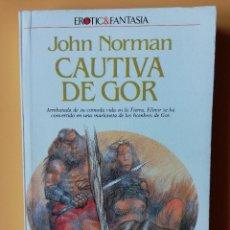 Libros: CAUTIVA DE GOR. CRÓNICAS DE LA CONTRATIERRA/7. ARREBATADA DE SU CÓMODA VIDA EN LA TIERRA, ELINOR SE. Lote 226436224