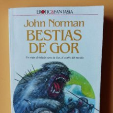 Libros: BESTIAS DE GOR. CRÓNICAS DE LA CONTRATIERRA/12. UN VIAJE AL HELADO NORTE DE GOR, EL CONFÍN DEL MUNDO. Lote 226436234