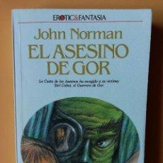 Libros: EL ASESINO DE GOR. CRÓNICAS DE LA CONTRATIERRA/5. LA CASTA DE LOS ASESINOS HA ESCOGIDO A SU VÍCTIMA:. Lote 226436235