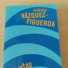 Libros: PIRATAS. ALBERTO VÁZQUEZ-FIGUEROA. NUEVO. Lote 226441570