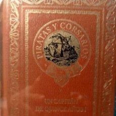 Libros: UN CAPITÁN DE QUINCE AÑOS - JULIO VERNE - NUEVO PRECINTADO. Lote 226478540