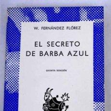 Libros: EL SECRETO DE BARBA AZUL. Lote 226707235