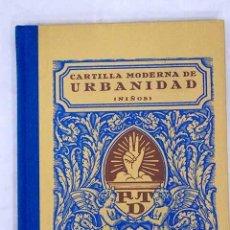 Libros: CARTILLA MODERNA DE URBANIDAD: NIÑOS. Lote 226707260
