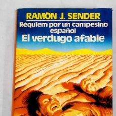 Libros: RÉQUIEM POR UN CAMPESINO ESPAÑOL ; EL VERDUGO AFABLE. Lote 226707430