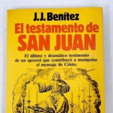 Libros: EL TESTAMENTO DE SAN JUAN. Lote 226707460