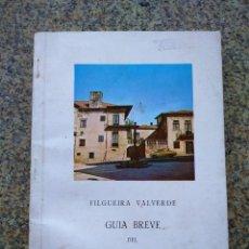 Libros: FILGUERA VALVERDE - GUIA BREVE DEL MUESEO DE PONTEVEDRA --1970 --. Lote 226806190