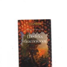 Libros: DRAGON LANCE MEDIDAS DRACONIANAS TITUN MAS. Lote 243398365