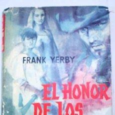 Libros: EL HONOR DE LOS GARFIELD. Lote 226937950