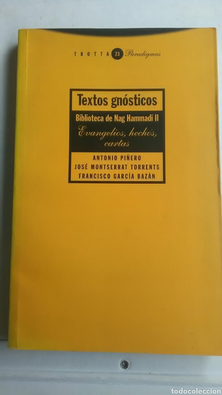 TEXTOS GNÓSTICOS. BIBLIOTECA DE NAG HAMMADI. TOMO II (Libros sin clasificar)