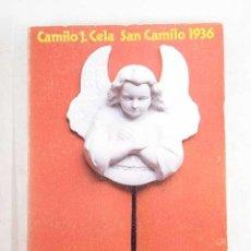 Libros: VÍSPERAS, FESTIVIDAD Y OCTAVA DE SAN CAMILO DEL AÑO 1936 EN MADRID. Lote 227653031