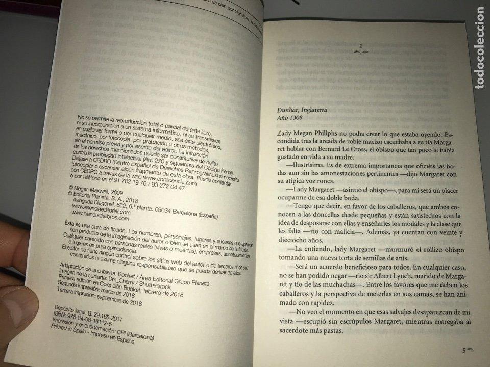 Libros: Deseo concedido. Megan Maxwell-Las guerreras de maxwell, 1 (tapa blanda) Nuevo - Foto 2 - 252144910
