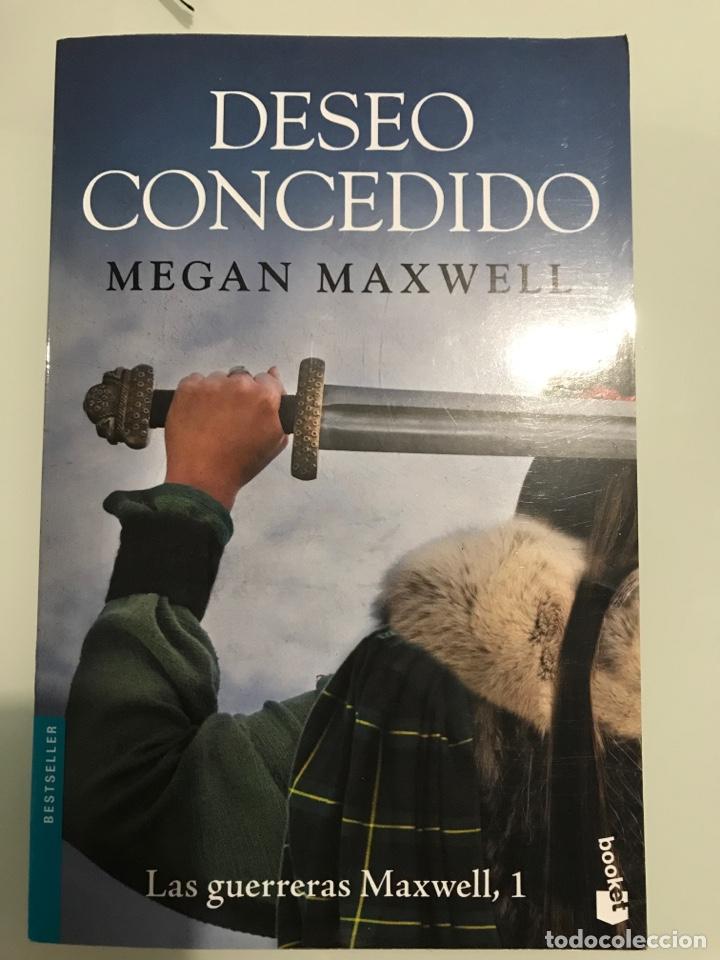 DESEO CONCEDIDO. MEGAN MAXWELL-LAS GUERRERAS DE MAXWELL, 1 (TAPA BLANDA) NUEVO (Libros Nuevos - Literatura - Narrativa - Aventuras)