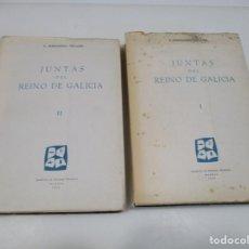 Libros: E. FERNÁNDEZ VILLAMIL JUNTAS DEL REINO DE GALICIA ( 2 TOMOS) Q4175T. Lote 227983605