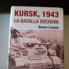Libros: KURST LA BATALLA DECISIVA. Lote 228581810