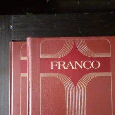 Libros: FRANCO VIDA DE FRANCISCO FRANCO DE BAHAMONDE CAUDILLO DE ESPAÑA EN DOS TOMOS. Lote 228581917