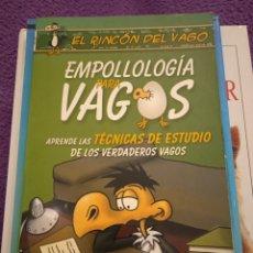Libros: EMPOLLOLOGÍA PARA VAGOS APRENDE LAS TÉCNICAS DE ESTUDIO DE LOS VERDADEROS VAGOS. Lote 228675750