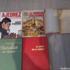 Libros: LOTE DE 5 LIBROS DE GUERRA Y BATALLAS. Lote 228761295
