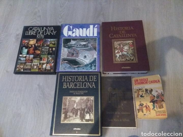 LOTE DE 5 LIBROS DE LA HISTORIA DE CATALUNYA (Libros sin clasificar)