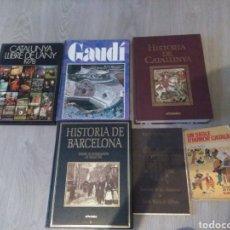 Libros: LOTE DE 5 LIBROS DE LA HISTORIA DE CATALUNYA. Lote 228762880