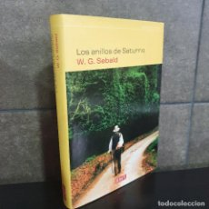 Libros: LOS ANILLOS DE SATURNO. WINFRIED GEORG SEBALD.. Lote 253601475