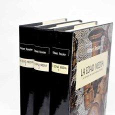 Livres: LA EDAD MEDIA.- FOSSIER, ROBERT. Lote 229788290