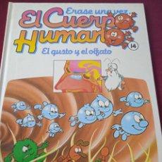 Libros: EL CUERPO HUMANO 14. EL GUSTO Y EL OLFATO. EDITORIAL PLANETA. Lote 230175085