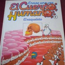 Libros: EL CUERPO HUMANO 9. EL ESQUELETO. EDITORIAL PLANETA. Lote 230223215