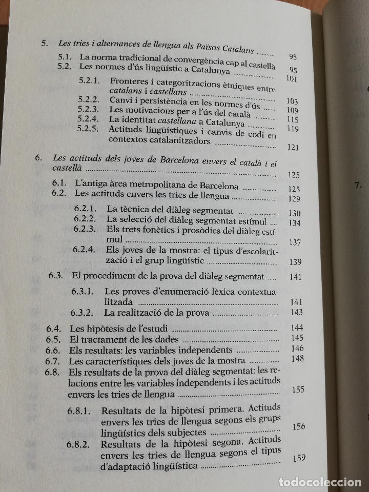 Libros: TRIAR NO ÉS TRAIR. IDENTITAT I LLENGUA EN ELS JOVES DE BARCELONA (EMILI BOIX) - Foto 3 - 231416770