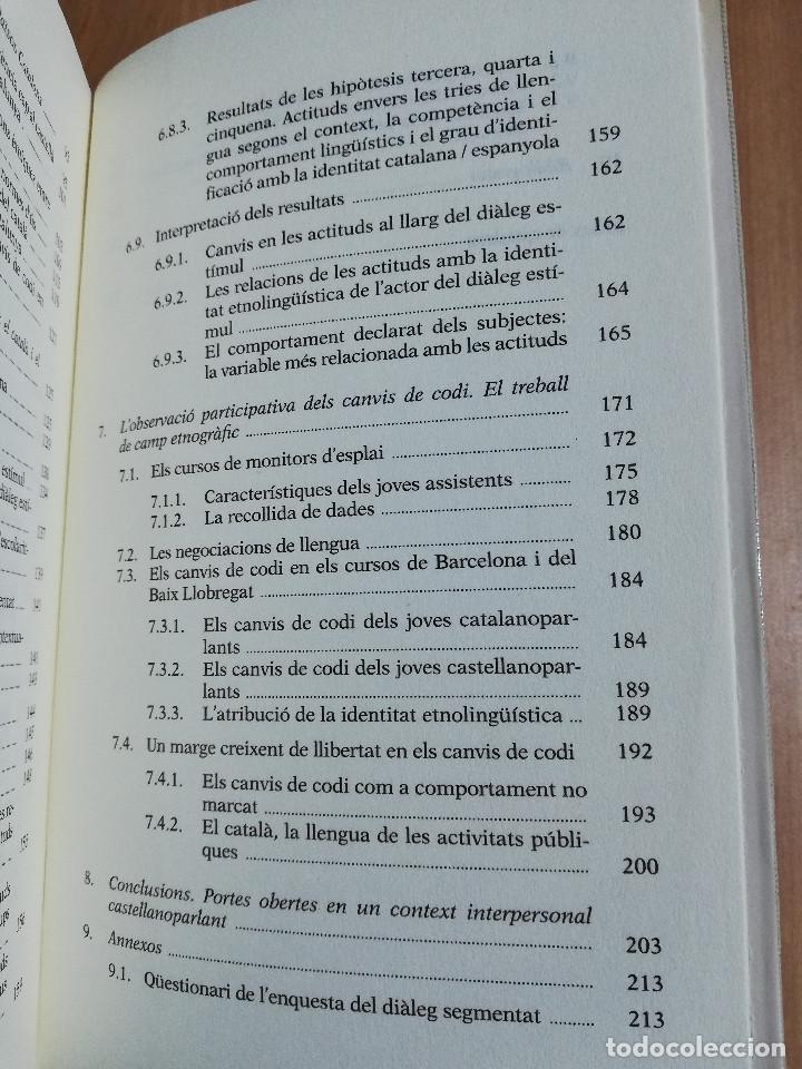 Libros: TRIAR NO ÉS TRAIR. IDENTITAT I LLENGUA EN ELS JOVES DE BARCELONA (EMILI BOIX) - Foto 4 - 231416770