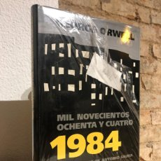 Libros: 1984. MIL NOVECIENTOS OCHENTA Y CUATRO. ILUSTRACIONES DE ANTONIO SAURA. - ORWELL, GEORGE.. Lote 231541825