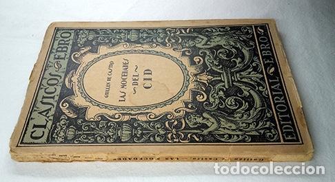 Libros: Las mocedades del Cid · Guillén de Castro. Clásicos Ebro - Foto 2 - 231554275