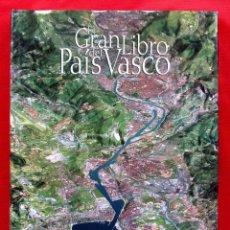 Libros: EL GRAN LIBRO DEL PAÍS VASCO. SALVAT. AÑO: 2000. BUEN ESTADO. JUAN MADARIAGA ORBEA.. Lote 232597185