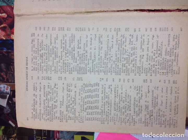 Libros: ANUARIO MEDICO 1927 - Foto 8 - 170259836