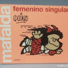 Libros: MAFALDA FEMENINO SINGULAR QUIMO LUMEN. Lote 232912265