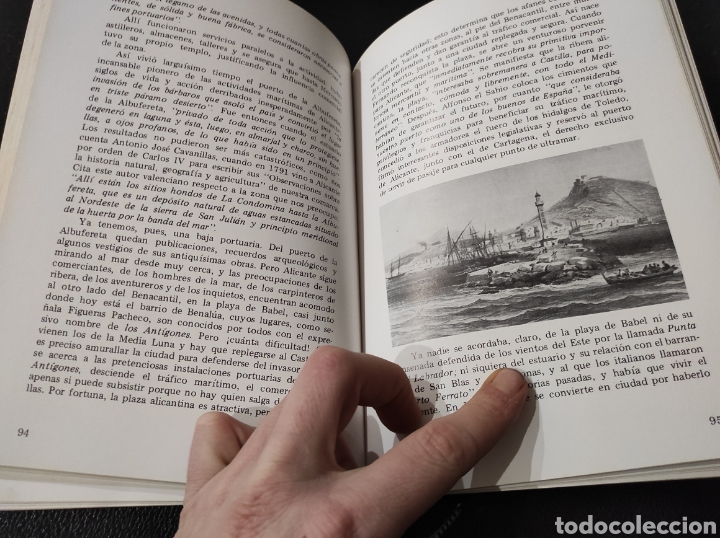 Libros: Libro Alicante, siempre. Fernando Gil Sánchez. 1982 Dedicado por el autor. - Foto 4 - 233448295