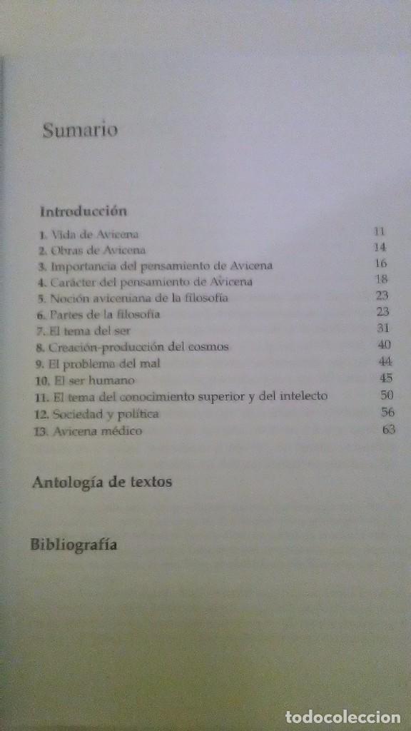Libros: Avicena. Esencial. Joaquín Lomba edición. Montesinos Esencial. 2009 - Foto 4 - 233455980