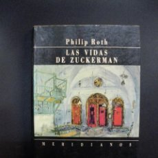 Libros: ROTH, PHILIP - LAS VIDAS DE ZUCKERMAN. Lote 233517780