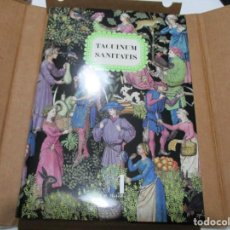 Libros: TACUINUM SANITATIS W5059. Lote 234167360