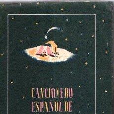 Livres: CANCIONERO ESPAÑOL DE NAVIDAD - NO CONSTA AUTOR. Lote 234616200