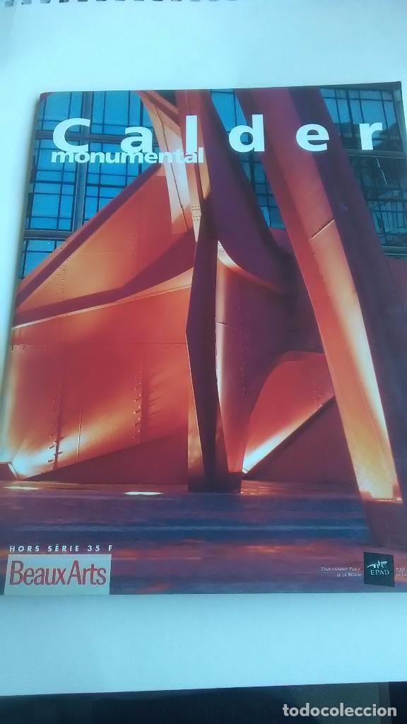 CALDER. MONUMENTAL. BEAUX ARTS MAGAZINE. 1992 (Libros sin clasificar)