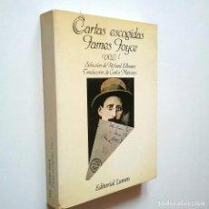 Libros: CARTAS ESCOGIDAS. VOL. I - JAMES JOYCE (SELECCIÓN, EDICIÓN Y PRÓLOGO DE RICHARD ELLMANN. TRADUCCIÓN. Lote 234712075